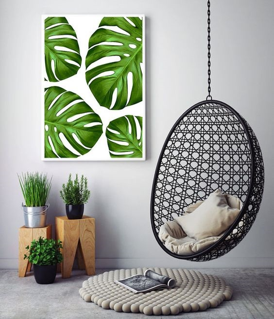 15 Scandinavian Hanging Leaf Decoration Ideas To beautify Your House