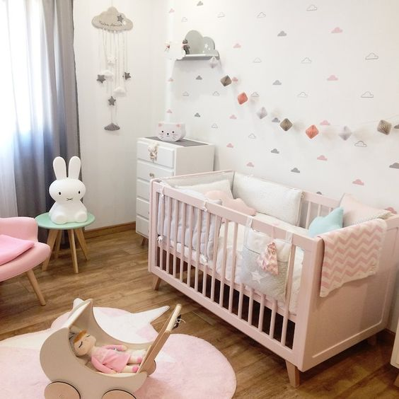 15 Soft Scandinavian Nursery Room Ideas For Your Lovely Baby