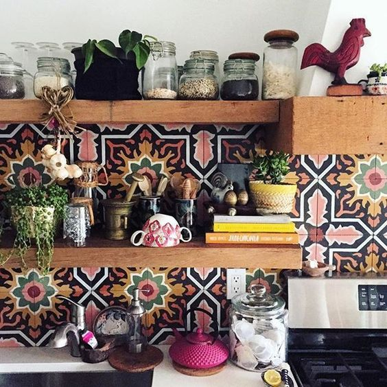 3 Inspiring Tips To Create Cozy Bohemian Kitchen Style Design For You