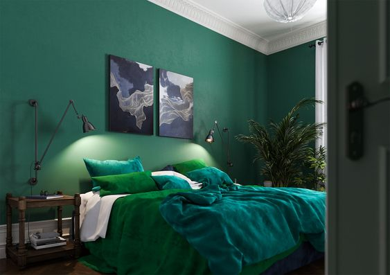 The Most 15 Green Bedroom Ideas To Produce Positive Mind