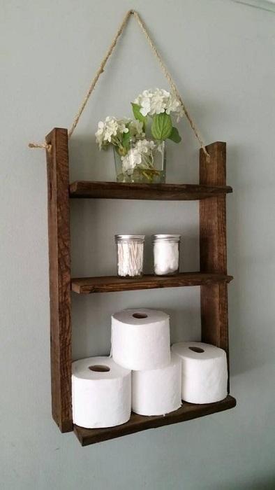 10 Creative Diy Bathroom Wall Decor Ideas: 10 Creative Bathroom Wall Shelves DIY Ideas Really