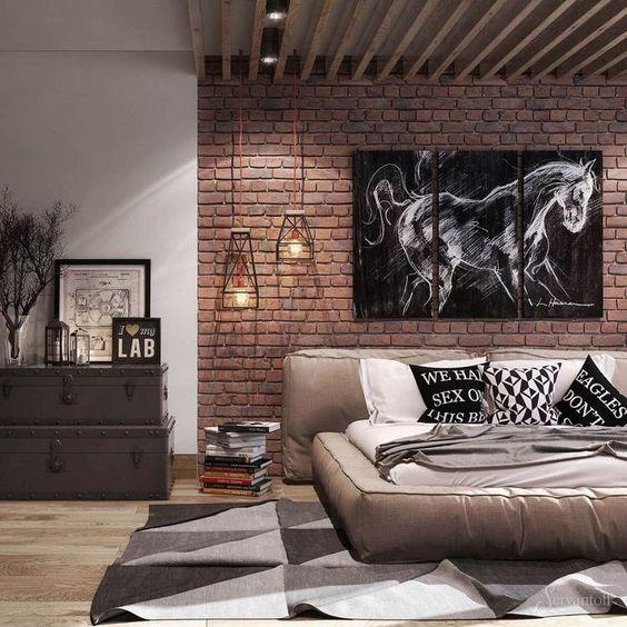 3 Masculine Bedroom Interior Designs And Tips For Men