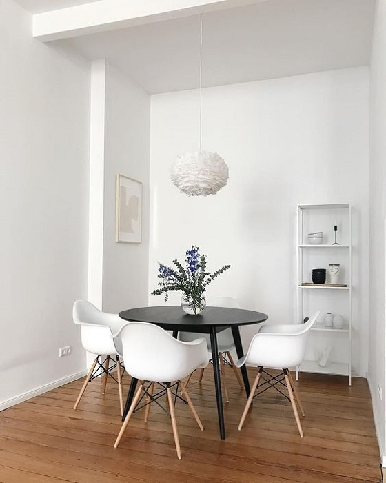 Find 15 Gorgoeus Scandinavian Dining Room Interior Design Ideas For Small Space