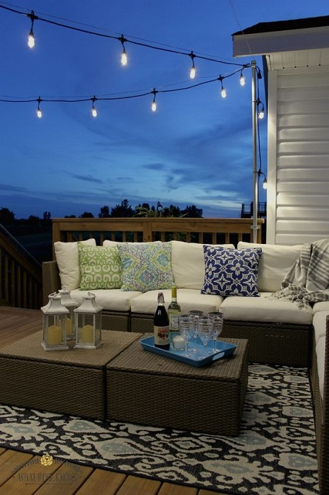 Find Smart And Easy DIY Outdoor Lights For Welcoming Summer Vibe