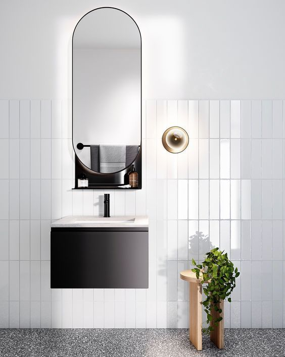 Get 15 Amazing Black And White Bathroom Interior Ideas Applied At Home