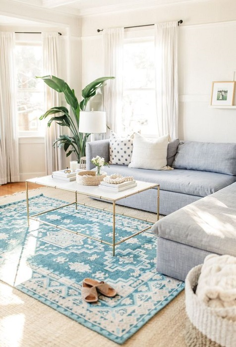 Get Genius Minimalist Home Decorating Tips By Using Modern Rug Decor Ideas
