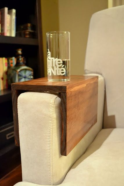 Here 10 Incredible Sofa Arm Table DIY Ideas You Must See!