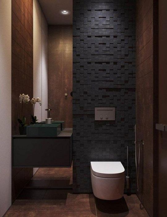 Wanna Remodel Old Bathroom? Apply Dark Bathroom Design Ideas & Tips To Produce Luxury Look