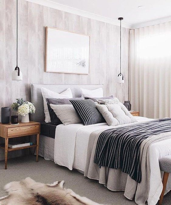 Wanna Have A Gorgeous Bedroom? Use Modern Pendant Lamp Bedroom Design Ideas