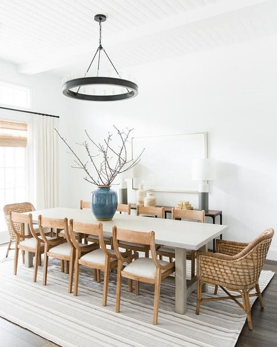 Wanna Make Your Dining Room Looks Luxury? Use 10 Contemporary Dining Room Chandelier Ideas