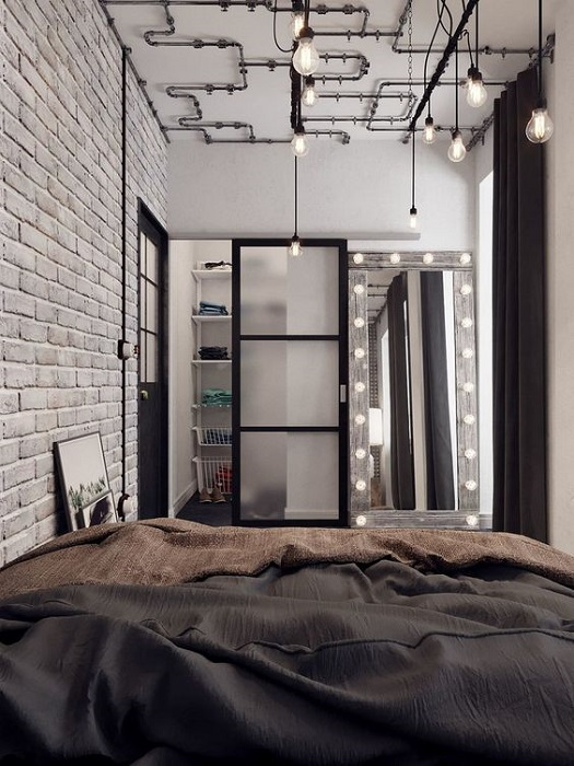 Smart Tips To Apply Industrial Bedroom Interior Design To Produce Coziness Inside Of It